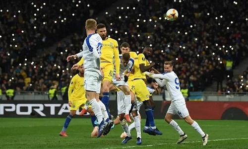 Giroud dẫn đầu cuộc đua vua phá lưới Europa League với chín bàn. Ảnh: Chelsea FC.
