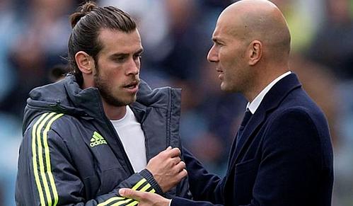 Zidane và Bale sẽ làm việc với nhau ít nhất tới hết mùa giải. Ảnh:AFP.