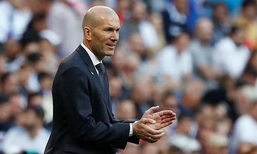 Zidane hài lòng với chiến thắng đầu tay trước Celta Vigo. Ảnh: Reuters.