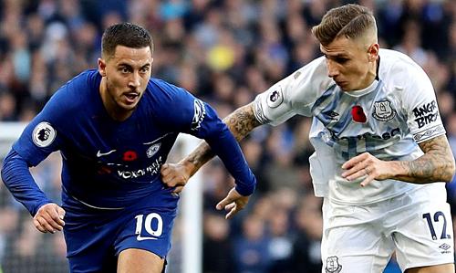 Hai đội hòa 0-0 ở lượt đi, diễn ra tháng 11/2018. Kết quả hòa ở lượt về sẽ vượt cả mong đợi của Everton.