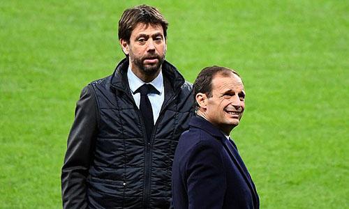 Chủ tịch Juventus, Andrea Agnelli (trái) hiện là Chủ tịch ECA. Ảnh: AP.
