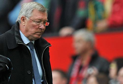 Ferguson giành 38 danh hiệu sau 27 năm dẫn dắt Man Utd. Ảnh:AFP.