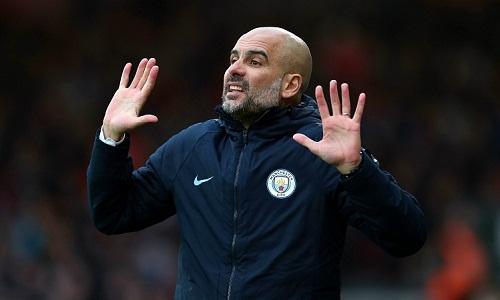 Ước muốn duy nhất của Guardiola lúc này là cầu thủ của ông lành lặn trở về sau khi tập trung cùng đội tuyển quốc gia. Ảnh: AFP.