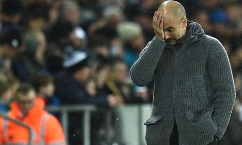 Guardiola không hài lòng với cách sắp xếp lịch thi đấu của FA. Ảnh: AFP.