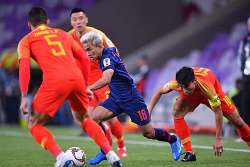Thái Lan giành chiến thắng ngay trên sân Trung Quốc.