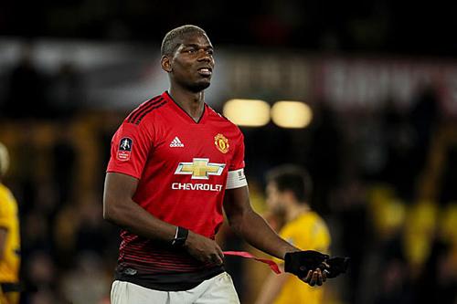 Pogba chưa bao giờ có phong độ ổn định trong màu áo Man Utd. Ảnh:AFP.