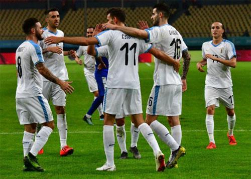 Đẳng cấp của Uruguay vượt xa so với phần lớn các đối thủ châu Á. Ảnh: Reuters