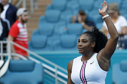 Serena liên tục gặp vấn đề về sức khỏethời gian gần đây.