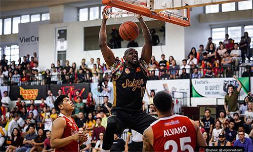 Saigon Heat kịp giành vé dự play-off trong trận cuối cùng của mùa giải chính. Ảnh: SGH.