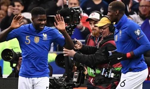 Pháp không gặp nhiều khó khăn để đánh bại Iceland. Ảnh: AFP.