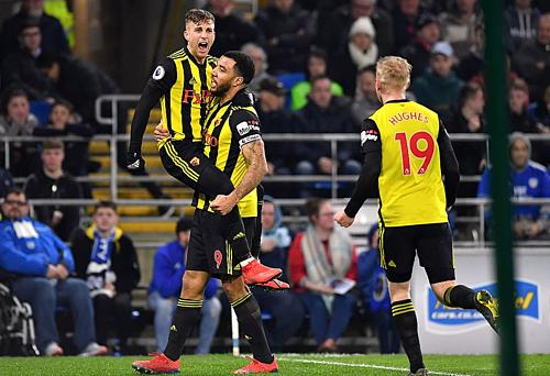 Watford đang thăng tiến với sự toả sáng của Gerard Deulofeu (trái). Cầu thủ người Tây Ban Nha có bốn bàn và hai kiến tạo trong bốn trận gần đây. Ảnh: PA.