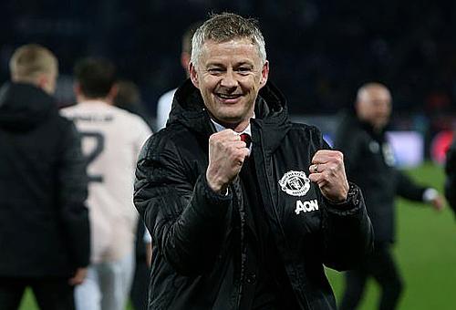 Solskjaer muốnmừng việc được bổ nhiệm chính thức bằng chiến thắng trước Watford. Ảnh: MUFC.