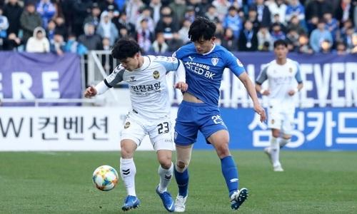 Công Phượng thi đấu năng nổ, nhưng không thể giúp Incheon có điểm. Ảnh: Diodeo.com.
