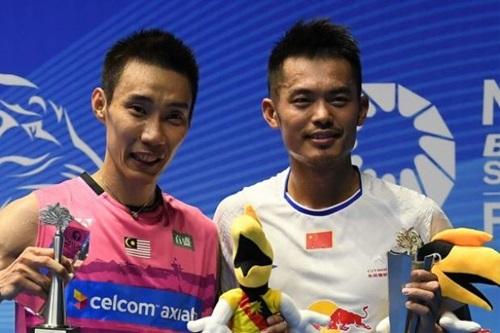 Lee Chong Wei (trái) chưa từng đoạt HC vàng ở Olympic cũng như các giải vô địch thế giới. Ảnh: AP.
