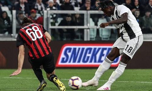 Kean tiếp tục thăng hoa với bàn thứ năm trong năm trận liên tiếp. Ảnh: AFP.