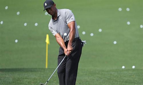 Woods đã sẵn sàng cho Masters 2019. Ảnh: Reuters.