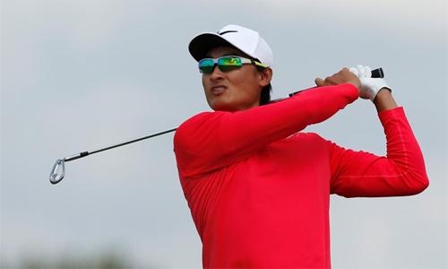 Li Haotong có vòng đấu đáng nhớ tại Royal Birkdale – nơi diễn ra The Open 2017. Ảnh: Reuters.