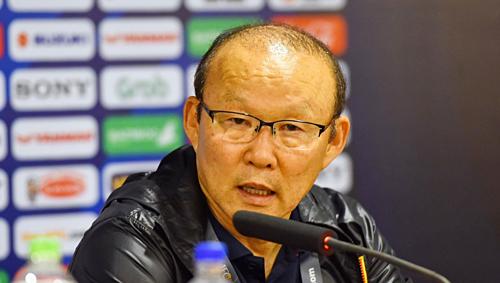HLV Park Hang-seo tỏ ra mát tay với các đội tuyển Việt Nam. Ảnh: Giang Huy.