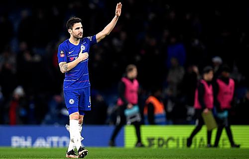Fabregas gắn bó 5 năm với Chelsea.