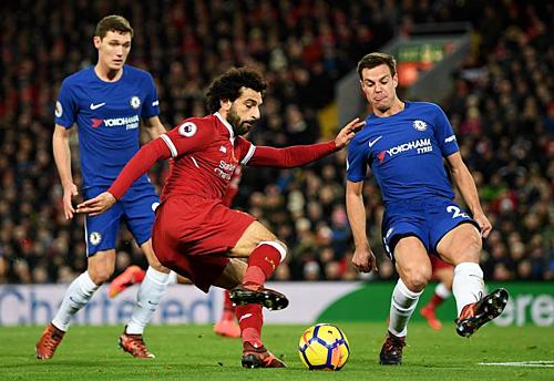 Liverpool đang sở hữu đội hình đồng đều và giàu chất lượng bậc nhất trong thời đại Ngoại hạng Anh. Ảnh:Reuters.