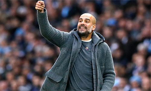 Guardiola tin tưởng đội ngũ dưới trướng sẽ giúp Man City vô địch Ngoại hạng Anh năm thứ hai liên tiếp.