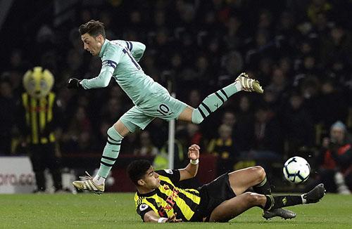 Arsenal có thể thắng đậm hơn nếu tận dụng tốt các cơ hội. Ảnh: DM.
