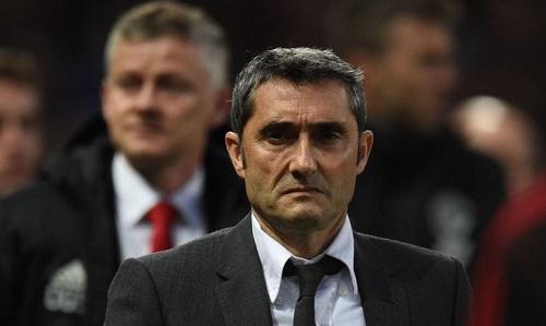 Valverde cho rằng Barca phải cẩn trọng với tinh thần của Man Utd. Ảnh: AFP.