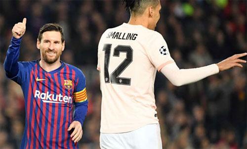 Messi một lần nữa tỏa sáng trong chiến thắng của Barca. Ảnh: Reuters