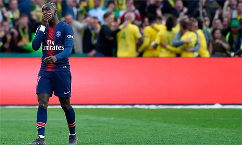 PSG nuôi tham vọng lớn ở Champions League, nhưng rồi trượt dài sau khi loại sớm ở sân chơi này. Ảnh: AFP.