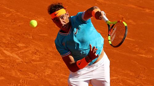 Nadal chỉ thua một game ở mỗi set trận này.