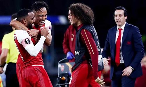 Arsenal đang có cơ hội lớn giành chức vô địch châu lục đầu tiên sau 25 năm. Ảnh:Rex.