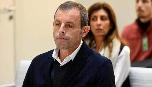 Rosell hầu tòa vào năm 2017. Ảnh:AFP.