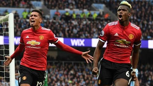 Man Utd từng thắng Man City 3-2 ở lượt về mùa trước. Ảnh: PA.