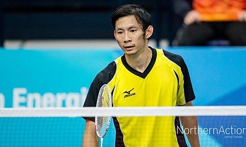 Tiến Minh - đang đứng thứ 75 thế giới -từng vào tứ kết châu Á năm 2011.