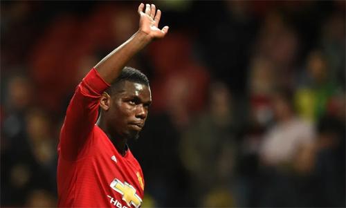 Pogba đang đối mặt với sự chỉ trích lớn. Ảnh: Reuters