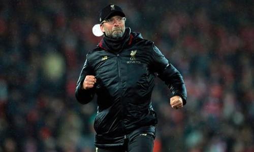 Dù chưa có danh hiệu nào cùng Liverpool, Klopp được xem là một trong những HLV vĩ đại nhất CLB. Ảnh: PA.