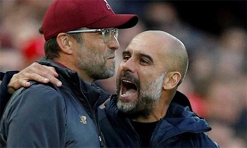 Guardiola tin rằng Man City đã tạo ra những chuẩn mực, nhưng Liverpool góp phần quan trọng để thúc đẩy đội của ông tiếp tục đi lên mùa này.