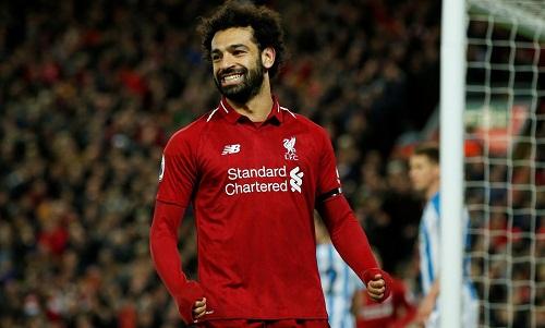 Salah bị đồn sẽ rời Liverpool để chơi cho Barca hoặc Real. Ảnh: Reuters.