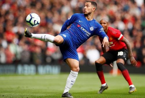 Hazard muốn Chelsea giành vé dự Champions League một cáchthường xuyên. Ảnh: Reuters.