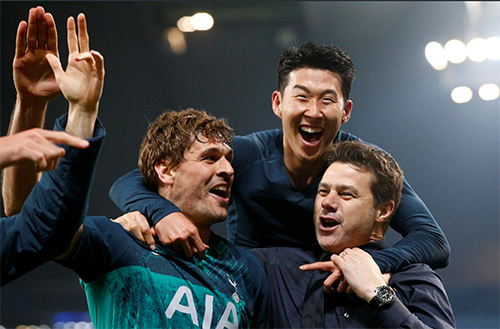 Pochettino và các học trò đang sống trong giấc mơ của chính họ, khi vào tới bán kết Champions League.
