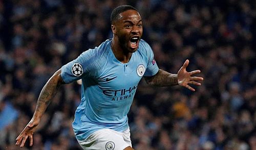 Sterling có mùa giải xuất sắc cùng Man City. Ảnh: Reuters.