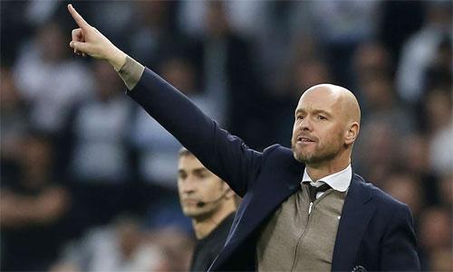 Ten Hag và Ajax đang có một hành trình cổ tích tại Champions League. Ảnh: Reuters