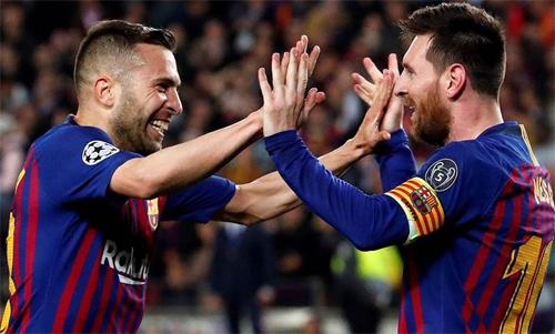 Messi đóng vai trò quan trọng trong chiến thắng của Barca. Ảnh: Reuters