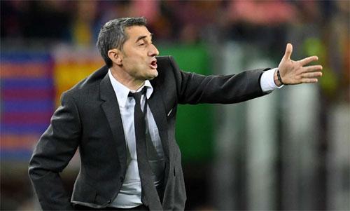 Valverde không quên bài học còn nóng hổi. Ảnh: Reuters