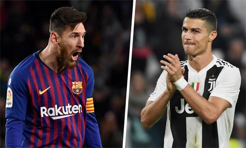 Messi và Ronaldo đang cùng có hàng trăm bàn và hàng chục danh hiệu.