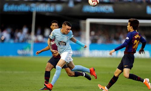 Barca dùng phần lớn cầu thủ trẻ.