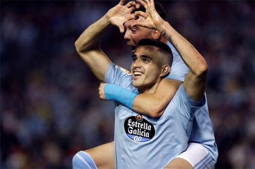 Celta Vigo có chiến thắng xứng đáng.