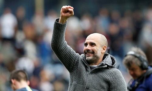 Guardiola tin Man City sẽ vượt qua áp lực ở trận đấu cuối để vô địch. Ảnh: Reuters.