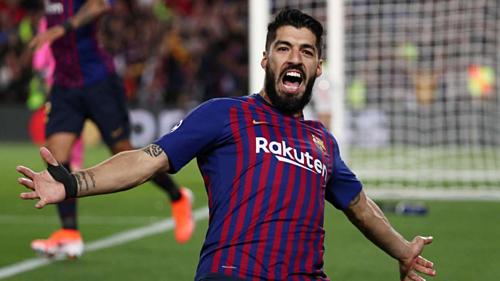 Suarez hứa không vui mừng nếu tiếp tục phá lưới Liverpool. Ảnh: Reuters.