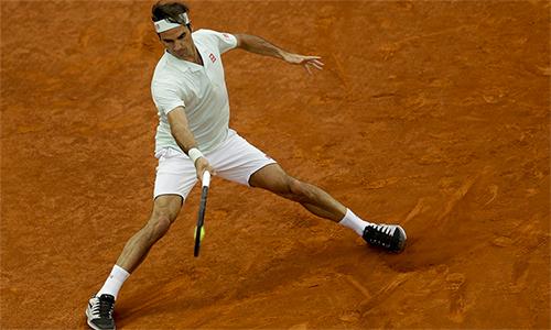 Federer thắng trận thứ 18 trong 20 lần đối đầu với Gasquet. Ảnh: AP.